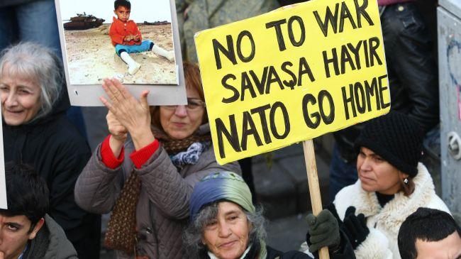 Photo of Video- Turkish People in Ankara against any Turkey- Syria War