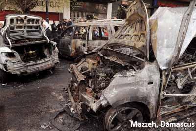 Photo of Eight civilians killed, several injured in terrorist attacks in Damascus, Aleppo