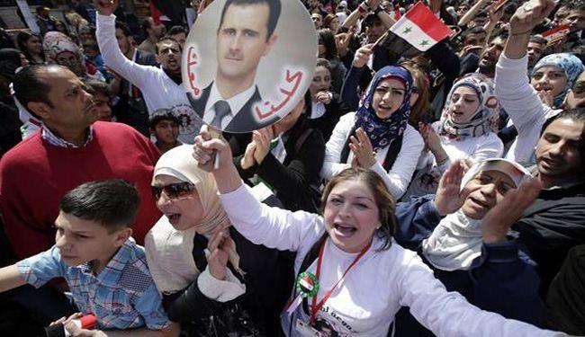 Photo of Photos- Syrians celebrate Yabroud liberation