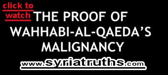Photo of Video- The proof of Wahhabi Al-Qaeda malignancy