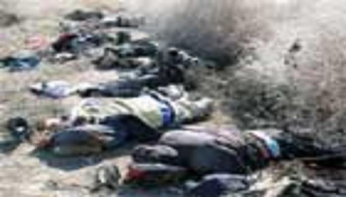 Photo of Syrian Army killed Turkish commander (Turki Al- Avdi code name) including 34 terrorists