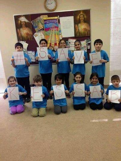 Photo of Christian Kessab Children Message to the World: SAVE KESSAB against terrorists
