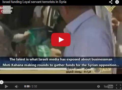 Photo of Video- Israeli Businessman Moti Kahana Gathers Money to Support the Wahhabi Syrian Opposition