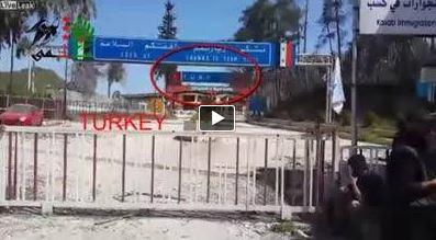 Photo of EVIDENCE VIDEO- Al-Qaeda terrorists entering Syria from Turkish soil