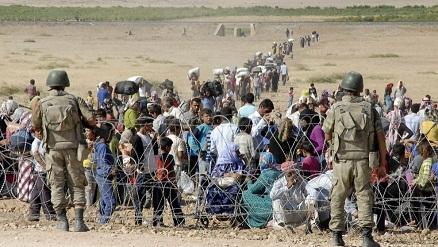 Photo of Kurds Plead for Help as ISIL Advances on Syria's Kobani
