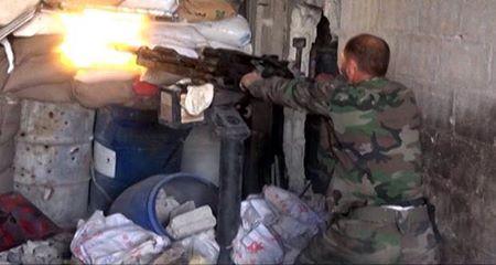 Photo of Army units eliminate non-Syrian terrorists in Lattakia countryside