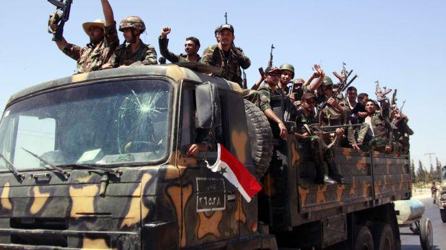 Photo of Syrian army advances toward Dumayr