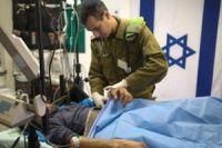 Photo of 'Zionist regime's hospitals treating Syria terrorists'