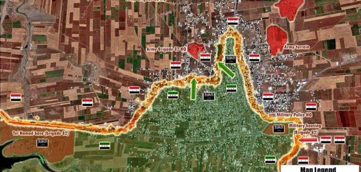 Photo of Battle Map Update of Sheikh Miskeen; Al-Jazeera Correspondent Killed