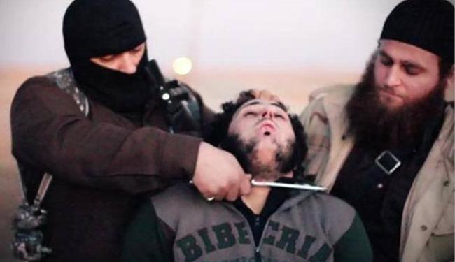 Photo of Inhuman US-israel puppet ISIS Beheads Syrian Accused of Jordanian Intelligence Agent
