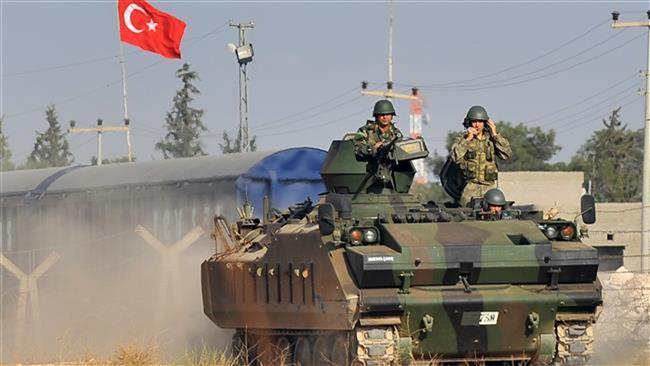 Photo of Turkey shells Syrian artillery units near border