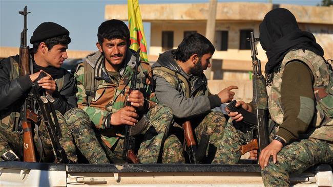 Photo of Kurdish fighters recapture town in Hasakah