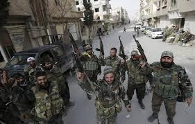 Photo of Syrian army advances along Lebanon border