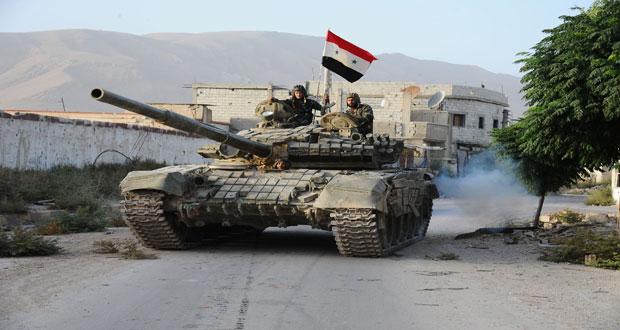 Photo of Syrian Army Regains Control of Palmyra-Homs Road