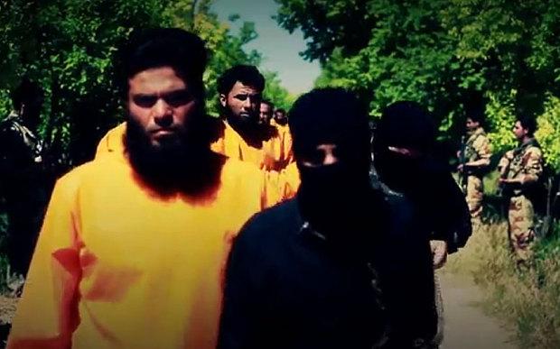 Photo of Takfiris vs Takfiris in Syria: Jaysh Al-Islam Posts Video for ISIL Killings