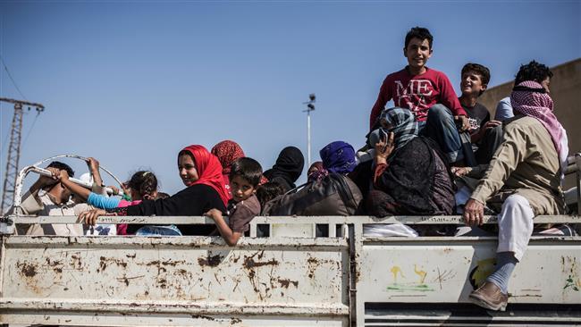 Photo of Daesh uses civilians in Raqqa as human shield: Activist
