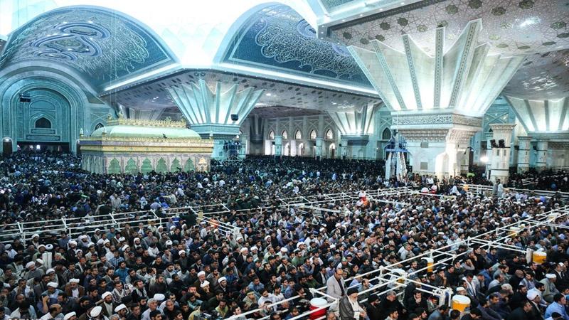 Photo of Millions gather at the mausoleum of Imam Khomeini