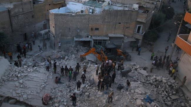 Photo of Militant shelling kills 40 in Syria's Aleppo