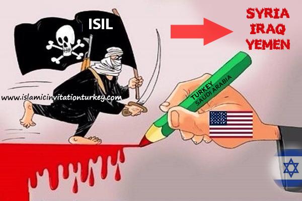 Photo of Zionist USA and Israel destroying Syria, Iraq, Yemen via Turkey and Saudi- led terrorists