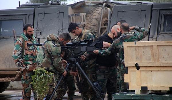 Photo of Dozens of Terrorists Killed in Syrian Army Offensive Near Al-Tharda Mountain