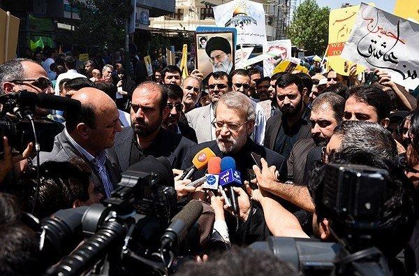 Photo of Larijani: Quds Day, day of Islamic awakening