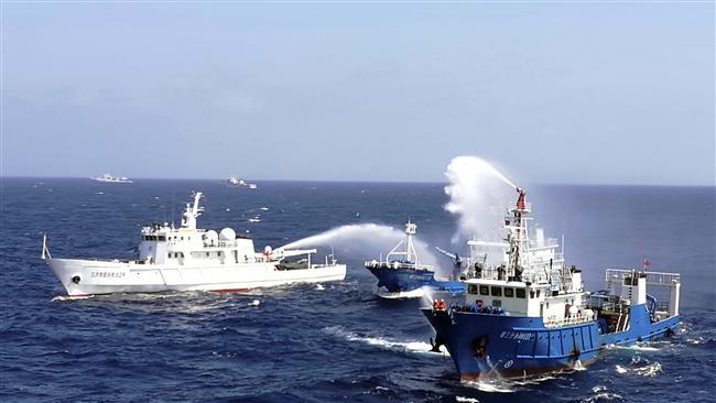 Photo of China slams US, Japan, Australia for 'fanning tensions'