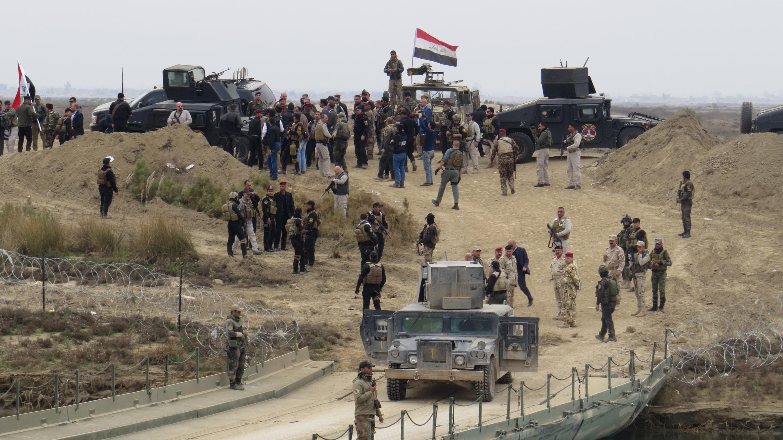 Photo of Iraq's Popular Forces Advance in Khalidiya Island in Ramadi