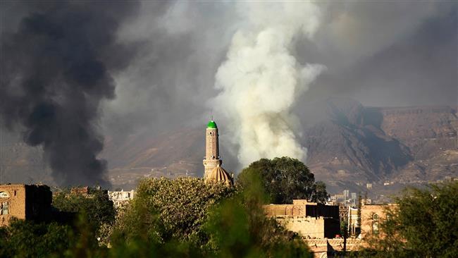 Photo of Saudi warplanes conduct simultaneous strikes across Yemen