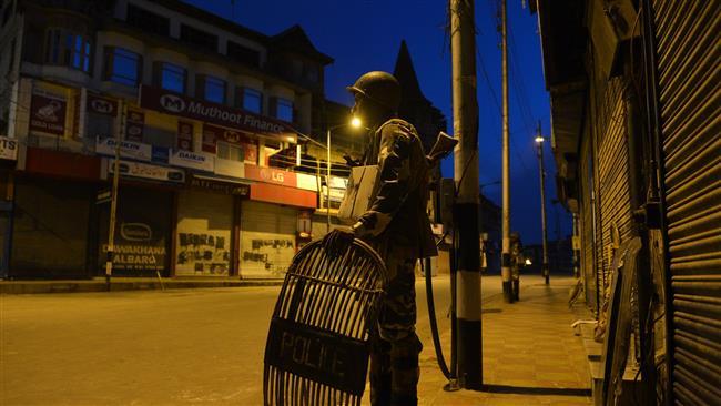 Photo of Indian police commander, seven fighters killed in Kashmir gun battles