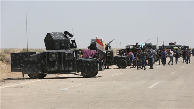 Photo of Iraqi forces liberate KhaldiyahIsland in Anbar province