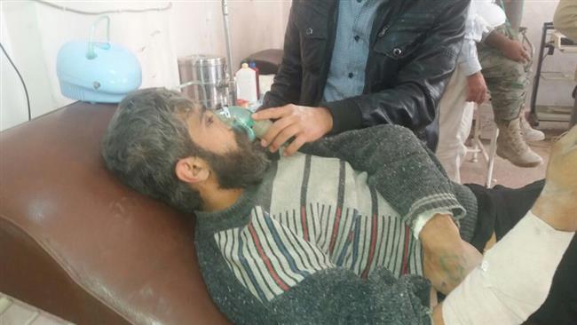 Photo of Chemical attack kills five Syrians in Aleppo: SANA