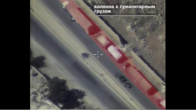 Photo of Footage of Attacked UN Aid Convoy in Syria's Aleppo