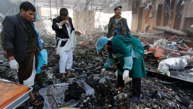 Photo of Iran censures Saudi attack on Yemeni mourners