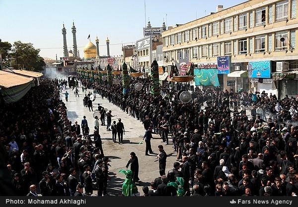 Photo of Photos- Muslims Mourn Tasoua of Imam Hossein (AS) in Qom
