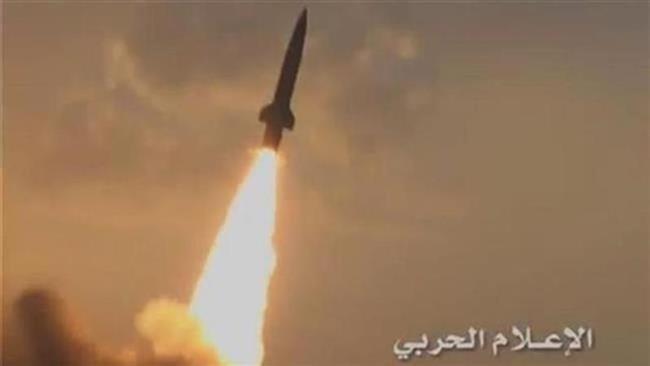 Photo of Yemeni forces hit Saudi base with ballistic missile
