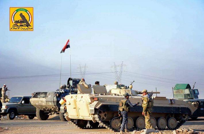 Photo of Iraqi Forces Retake Key Town amid Push to Liberate Mosul