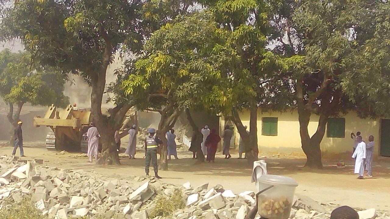 Photo of Photos- Zionist Regime Demolished Islamic Schools in Nigeria