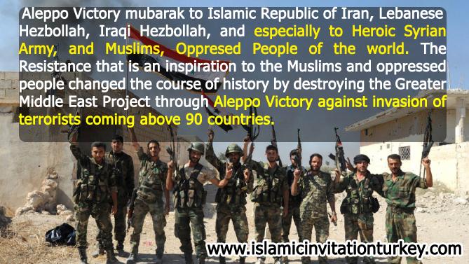 Photo of 6VIDEOS- Aleppo Victory Mubarak to Muslim Ummah and Oppressed People