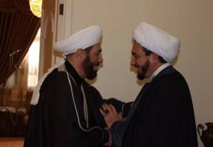 Photo of Syrian Grand Mufti met with representative of Ayatollah Najafi