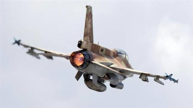 Photo of Zionist regime warplanes bombard Gaza Strip