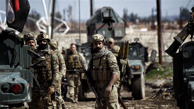 Photo of 'Iraqi elite forces retake government building in Mosul'