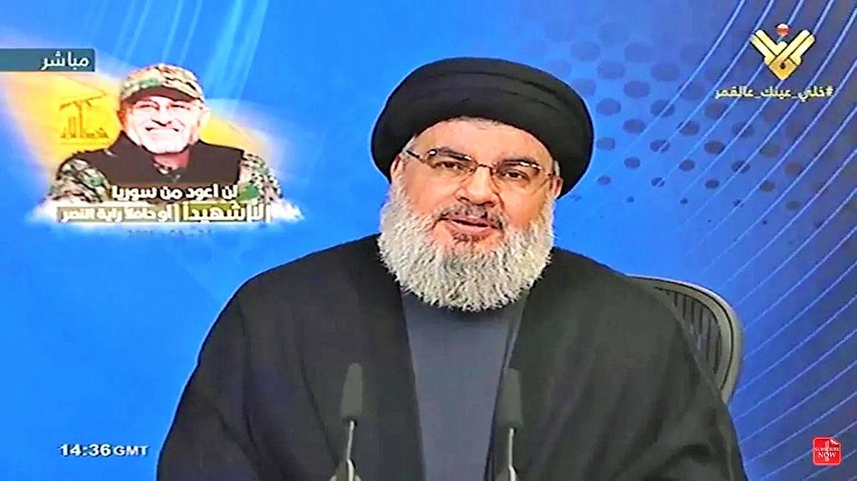 Photo of Sayyed Nasrallah to Speak Tuesday