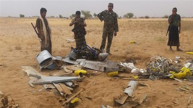 Photo of Zionist Saudi Regime's drone downed; troops, mercs killed in Yemen