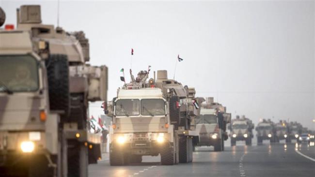Photo of Great Satan US puppet UAE 'deploys military forces to Yemeni island for training'