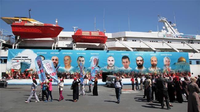 Photo of Turkish people mark anniversary of deadly zionist attack on Gaza-bound flotilla