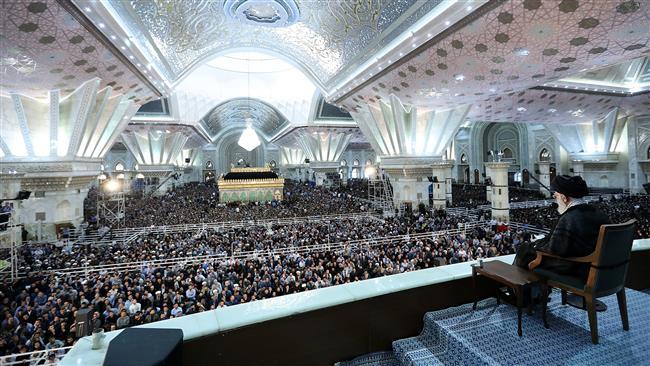 Photo of Leader of Islamic Ummah Imam Ali Khamenei: Islamic Revolution gave identity, independence to Iran
