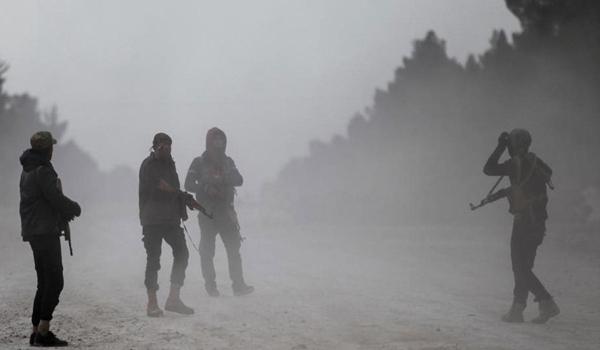 Photo of Ahrar Al-Sham Retreating from Idlib to Speed up Turkey's Military Invasion of Syria