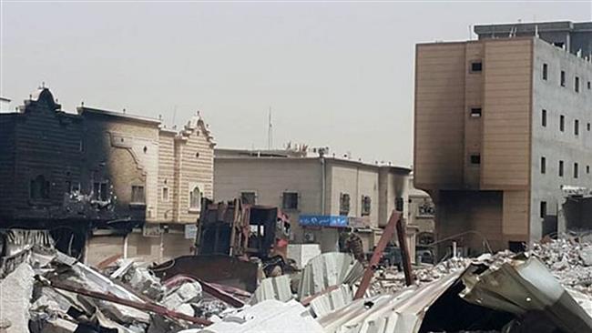 Photo of Video- Zionist Saudi Regime set ablaze Shia Muslims' homes in restive Awamiyah