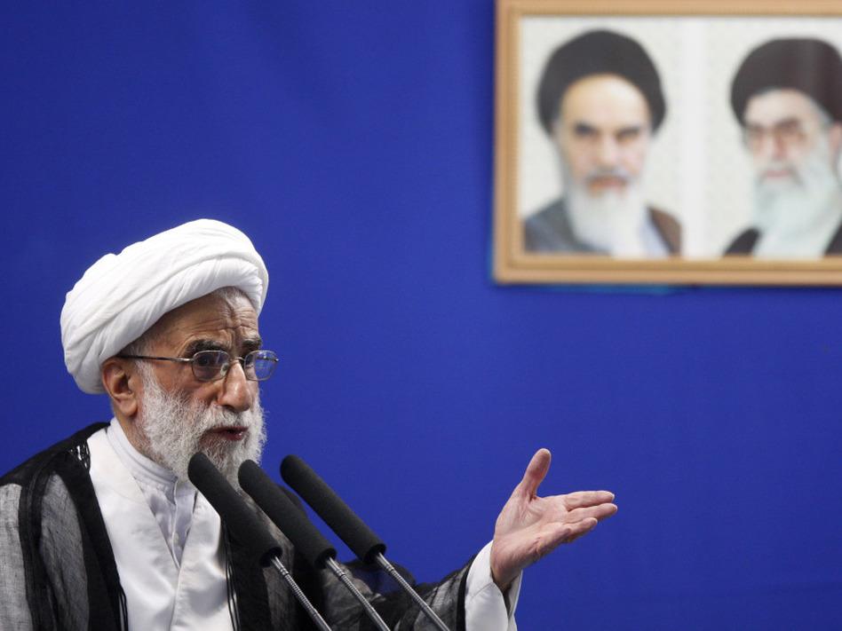 Photo of Ayatollah Jannati: Kurdish independence to 'create another Israel