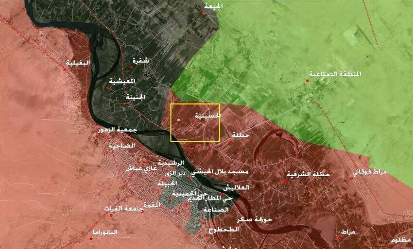 Photo of Syrian Armed Forces recapture Al-Husseiniyah village in Deir Ezzor